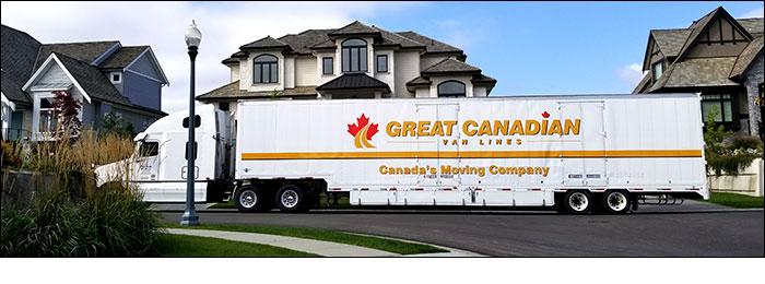 Long Distance Moving Truck of Kootenai Moving